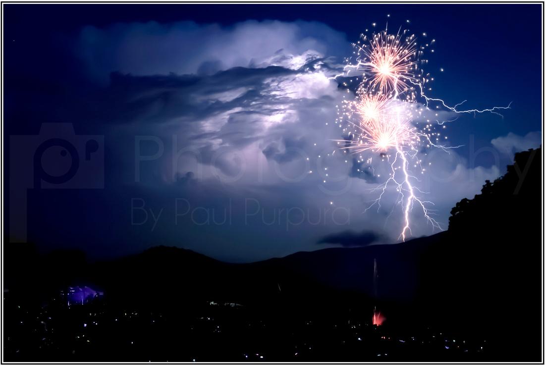 Wintergreen Fireworks - 0059-5