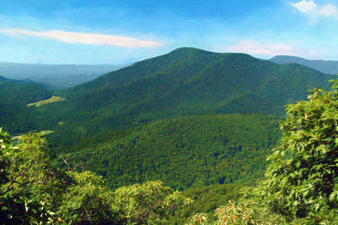 Three Ridges Mountain