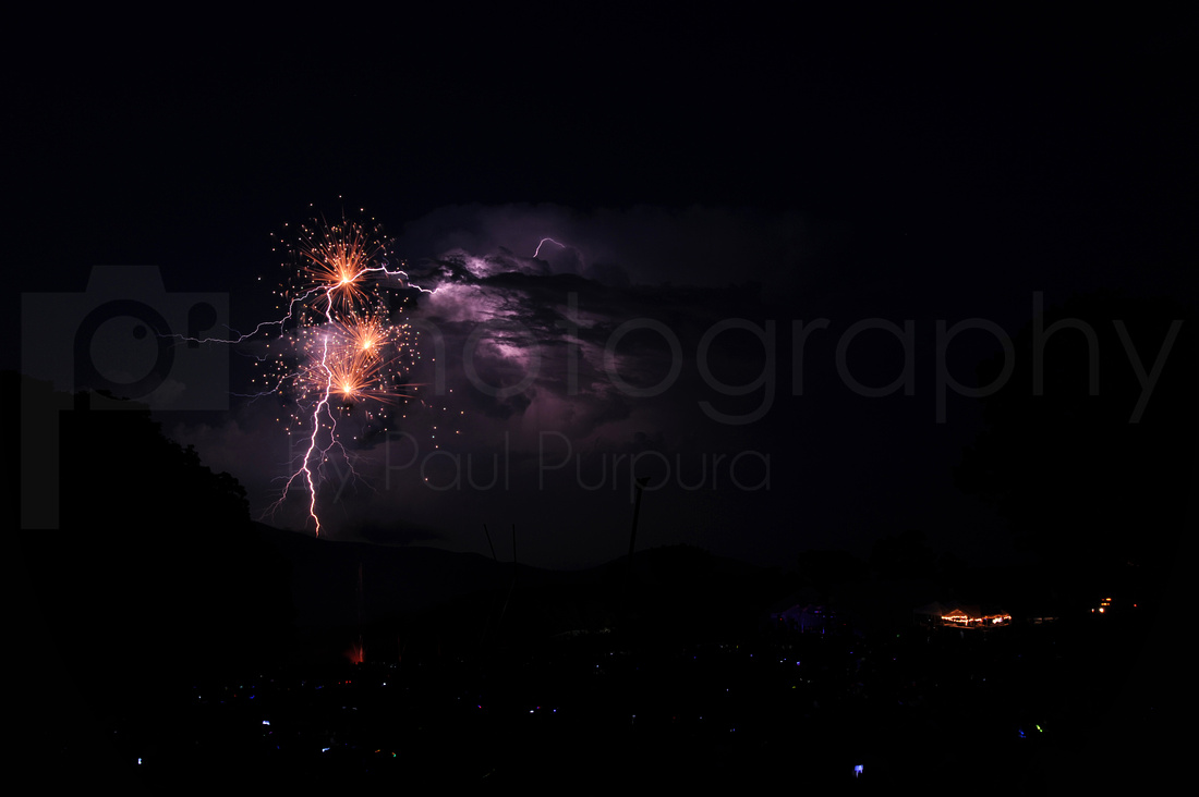 Wintergreen Fireworks - 0059
