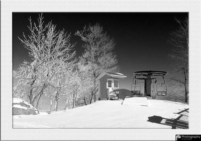 Snowmaking @ Potato Patch - 0005-Framed